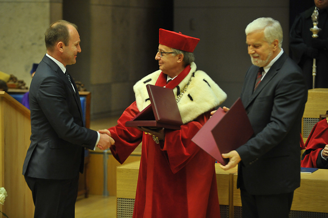 Złoty Medal dla Uniwersytetu Jagiellońskiego