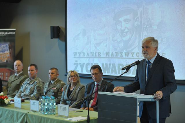 Spotkanie kombatantów w rocznicę zakończenia wojny