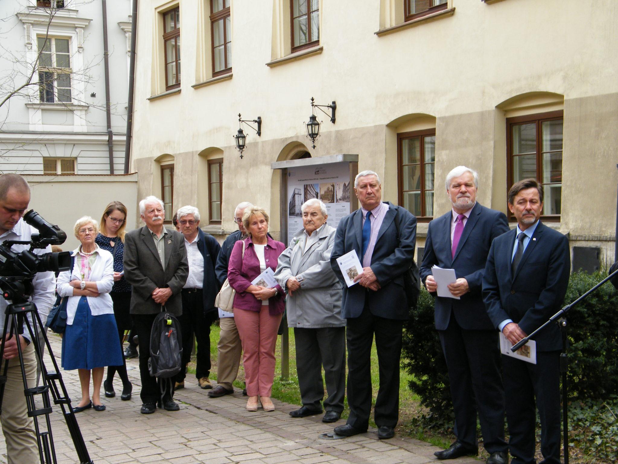 """Wystawa """"Geografia polska i geografowie w latach II wojny światowej"""""""