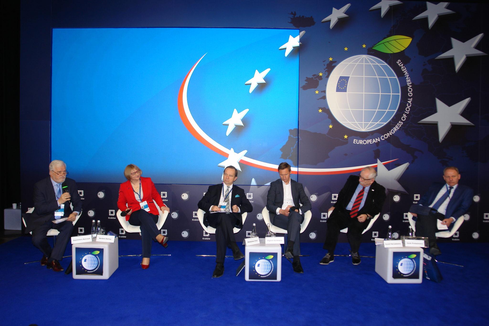 IV Europejski Kongres Samorządów w Krakowie