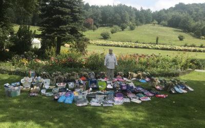 Wynik zbiórki akcji charytatywnej w Zagórzanach