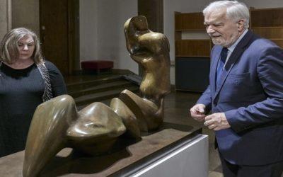 Prace Henry'ego Moore'a w Muzeum Narodowym w Krakowie