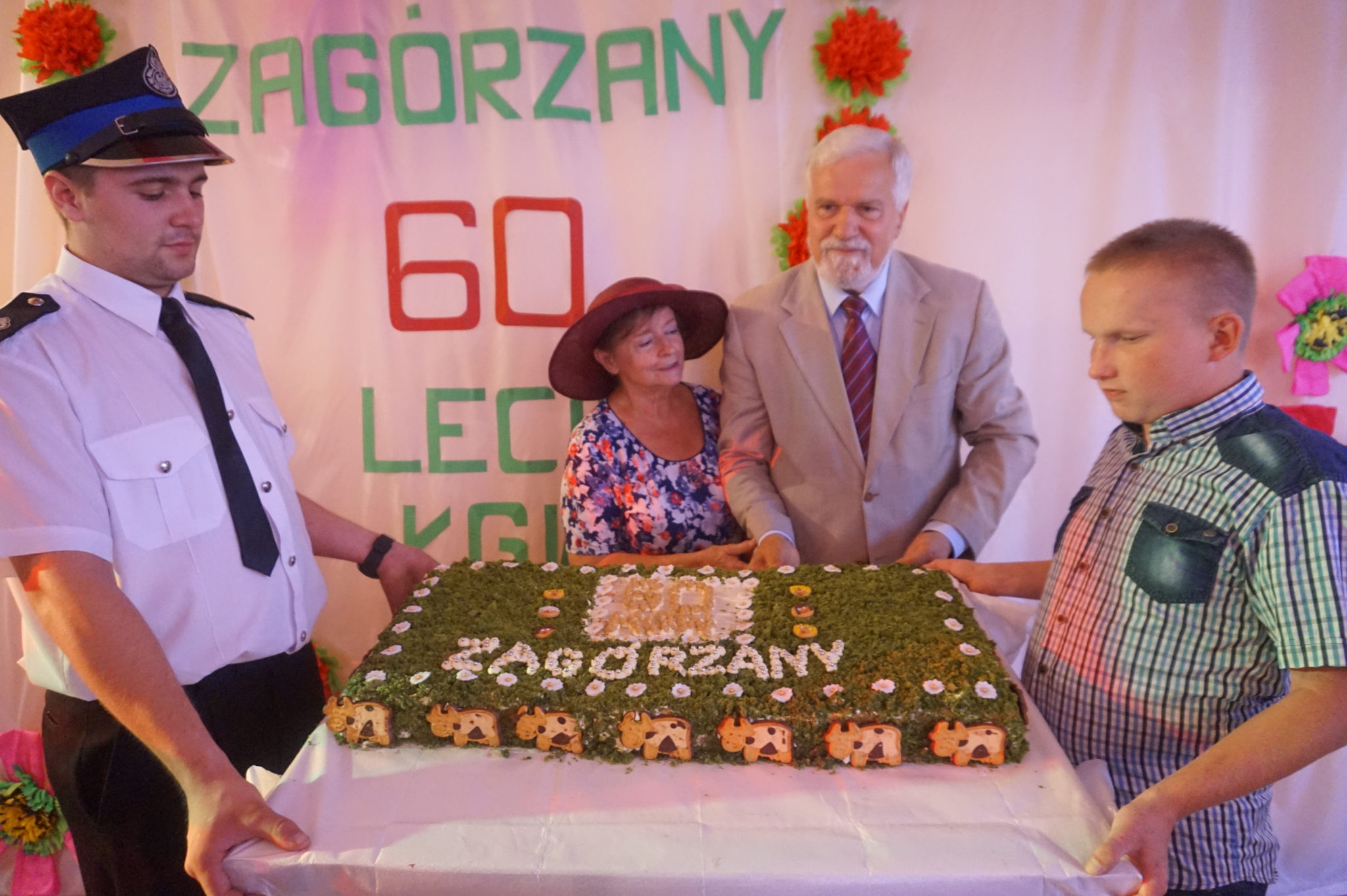 60-lecie Koła Gospodyń Wiejskich w Zagórzanach