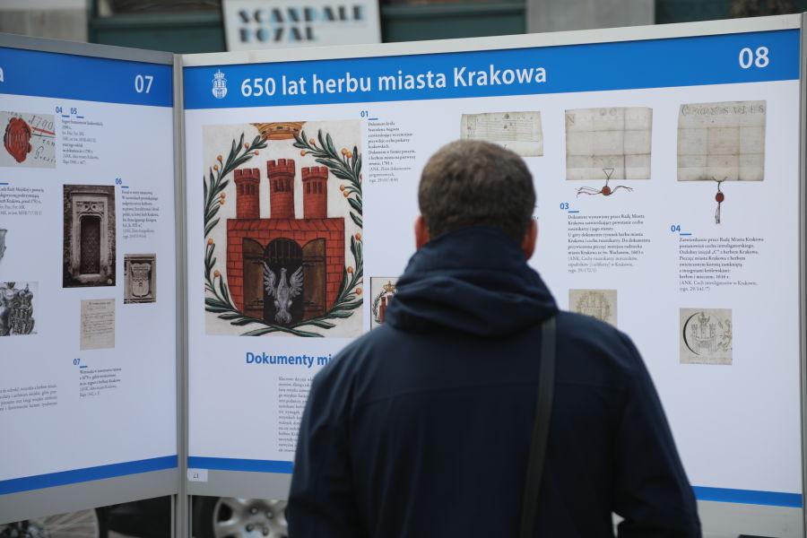 650 lat herbu Miasta Krakowa