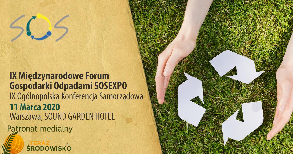 IX Międzynarodowe Forum Gospodarki Odpadami SOSEXPO 2020